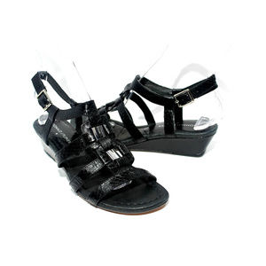 DONALD J. PLINER Dixy Strappy Wedge Sandals Size 7